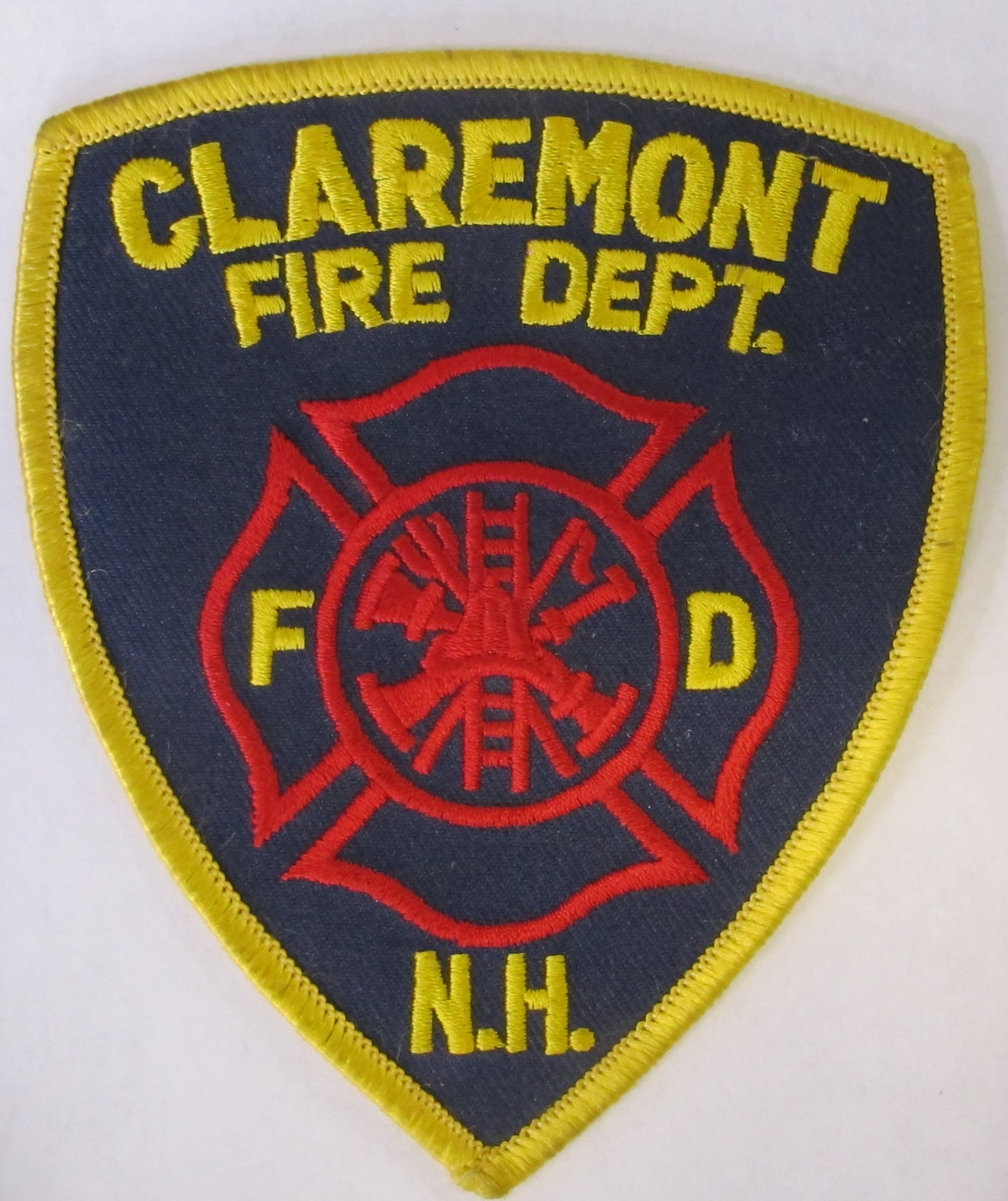 Claremont Police Patch